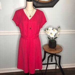 Love Squared V Neck Dress NEW! Size 2X